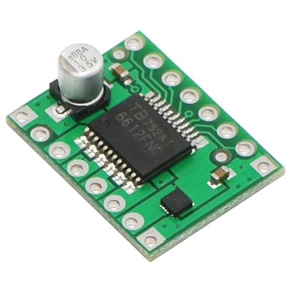 Tarjeta con driver TB6612FNG para dos motores de CD