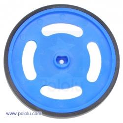 Rueda de plástico - Azul