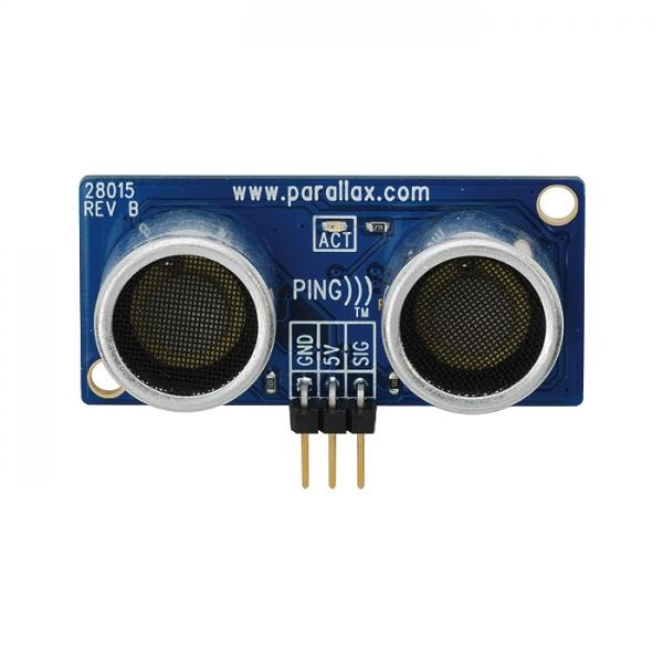 Sensor ultrasónico de distancia PING)))
