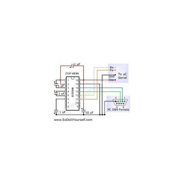 Circuito integrado MAX232