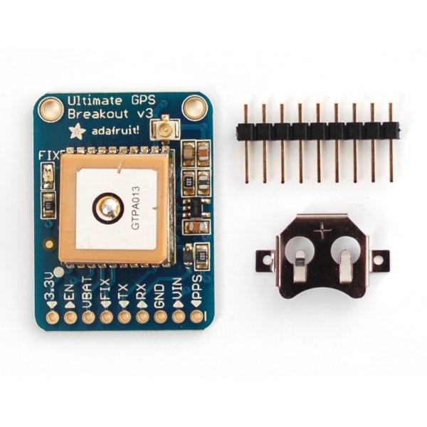 Módulo GPS con su sistema mínimo 66 canales 10Hz