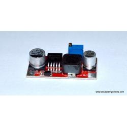 Fuente conmutada regulable basada en el circuito integrado LM2596