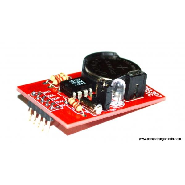 DS1307 con su sistema mínimo