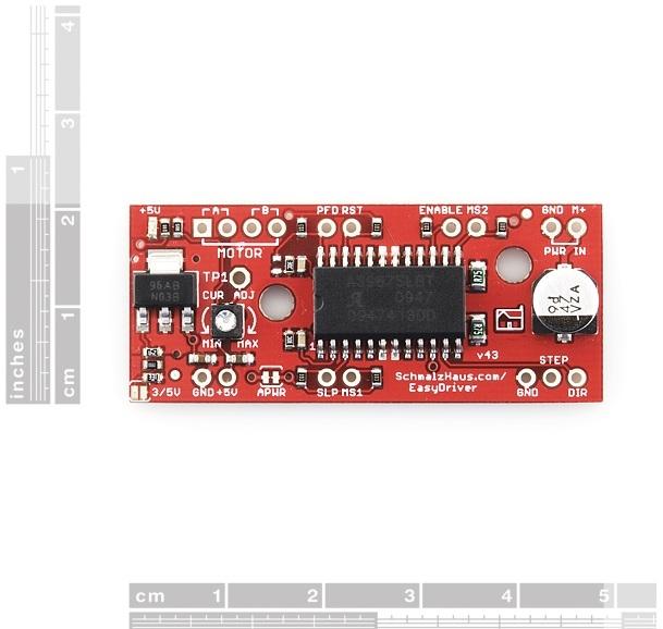 Control de precisión para motores a pasos (EasyDriver)