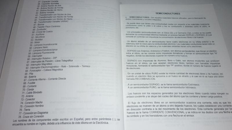Libro de componentes y símbolos electrónicos