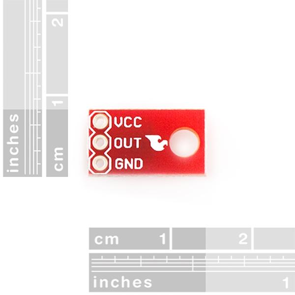 Sensor optoreflectivo infrarrojo analógico (QRE1113)