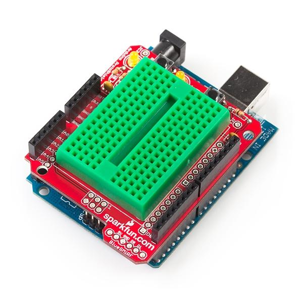 ProtoShield Compatible con Arduino.