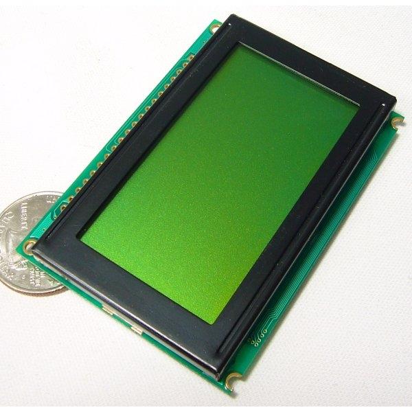 Pantalla LCD gráfica con 128x64 pixeles monocromática con backlight