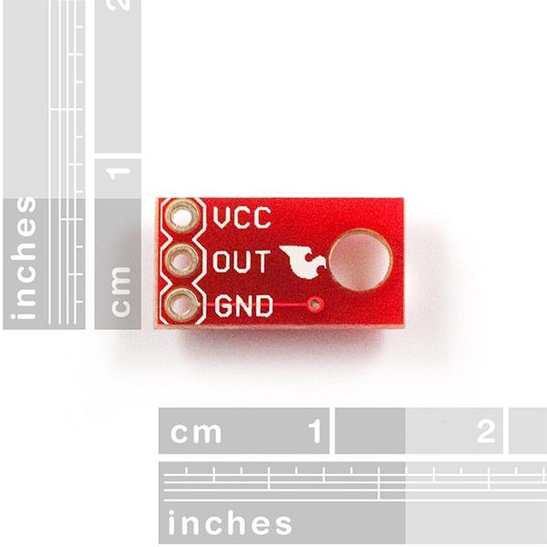 Sensor optoreflectivo infrarrojo digital (QRE1113)