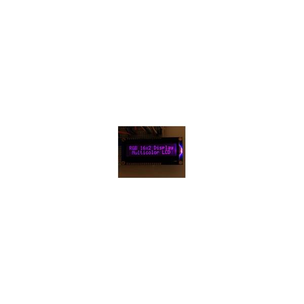 Pantalla LCD 16 x 2 RGB con backligth negativo