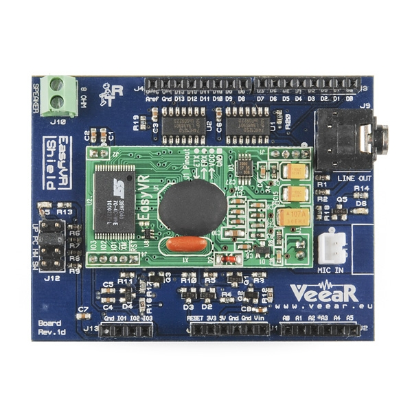 EasyVR Shield módulo de reconocimiento de voz compatible con Arduino