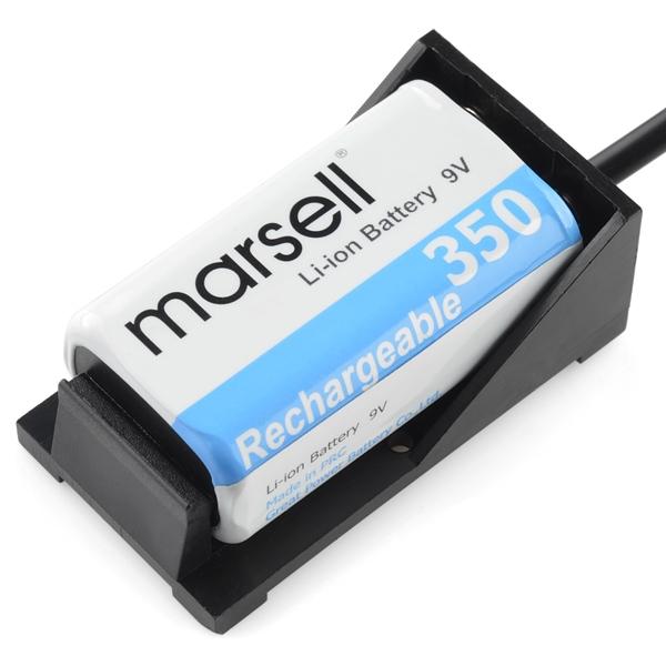 Porta pilas de 9V compatible con Arduino