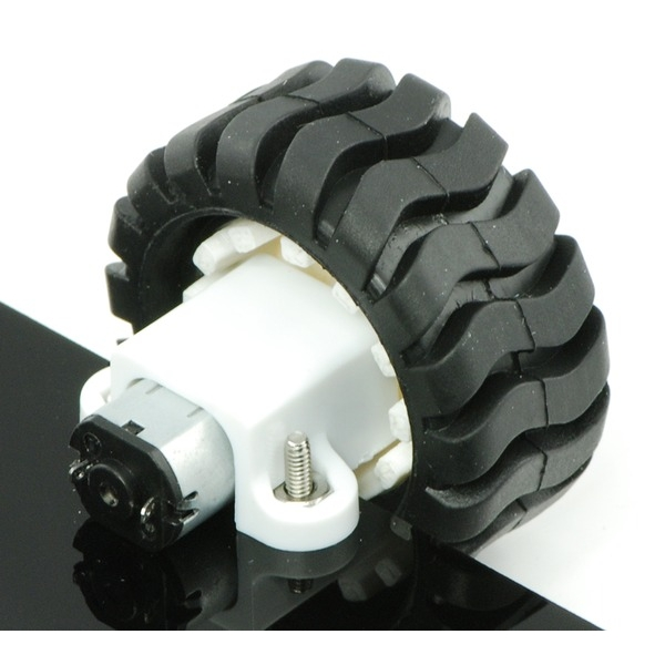 Micro motorreductor con motor de alto poder , relación 30:1