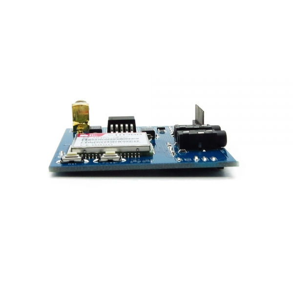 Sistema mínimo para SIM900 GSM cuatribanda