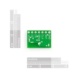 Transceiver nRF2401A con antena (mini)