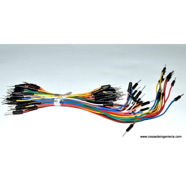 Alambres para protoboard (jumper wire)