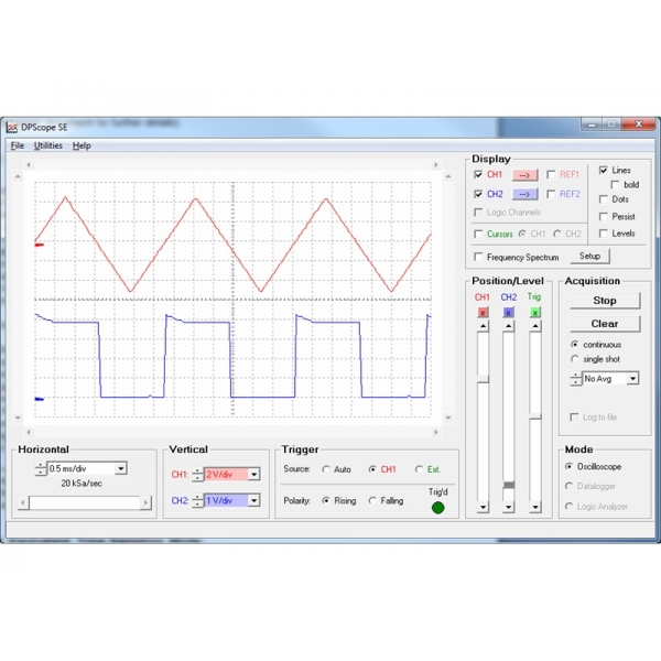 Osciloscopio en PCB