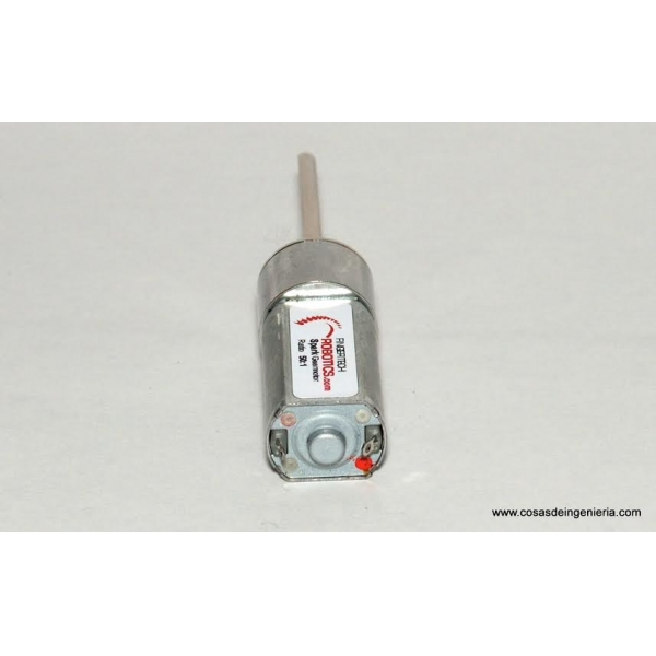 Motorreductor de 16mm Silver Spark 50:1