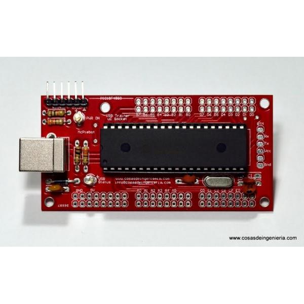 Sistema mínimo para el PIC18F4550