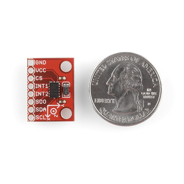 Acelerómetro digital de 3 ejes ADXL345