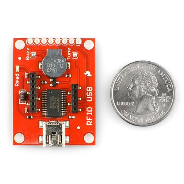 Lector USB para los módulos  RFID (ID-12, ID-20)
