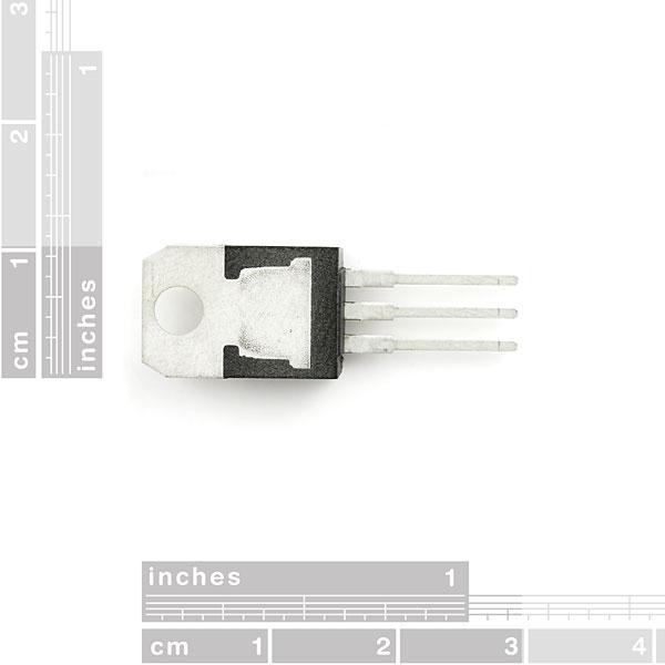 Regulador de voltaje positivo - 3.3V