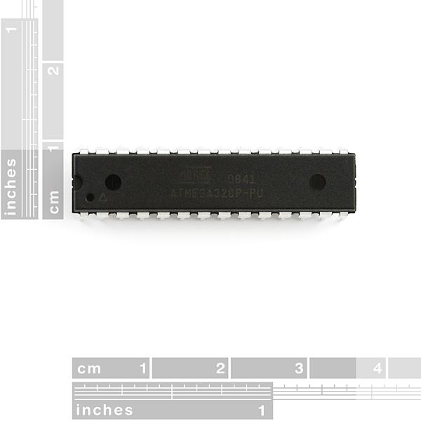 Microcontrolador AVR 28 Pin 20MHz 32K 6A/D - ATMega328P