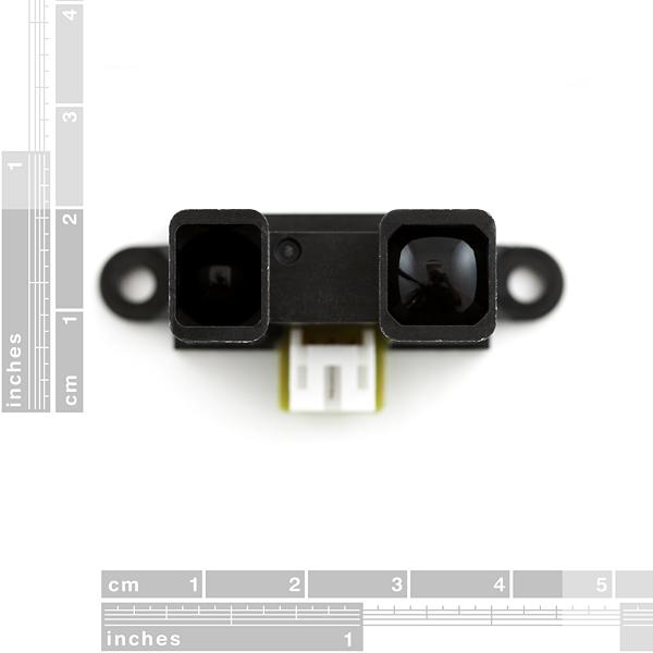 Sensor infrarrojo de proximidad y distancia 15 - 150cm (Sharp GP2Y0A02YK0F)