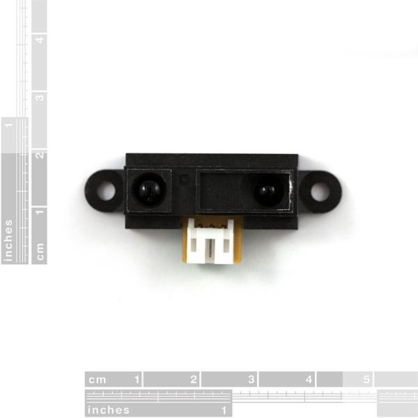 Sensor infrarrojo de proximidad y distancia 10 - 80cm (Sharp GP2Y0A21YK)