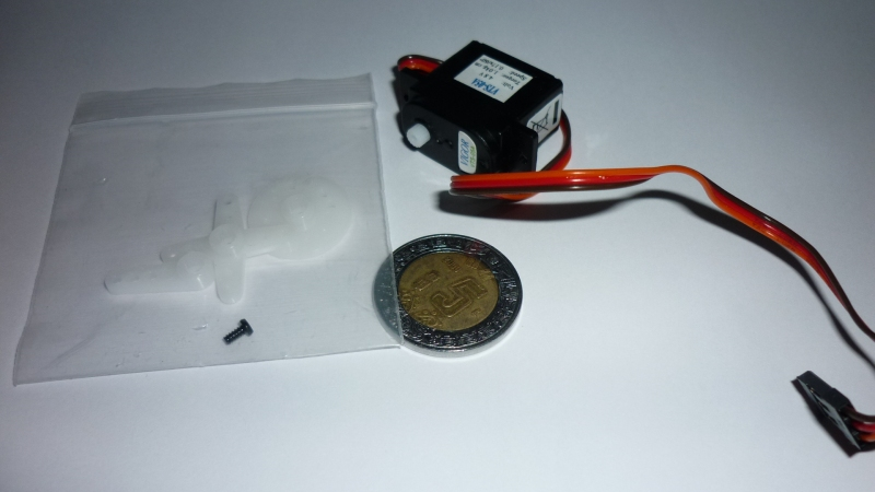 Mini Servomotor 1Kgf.cm