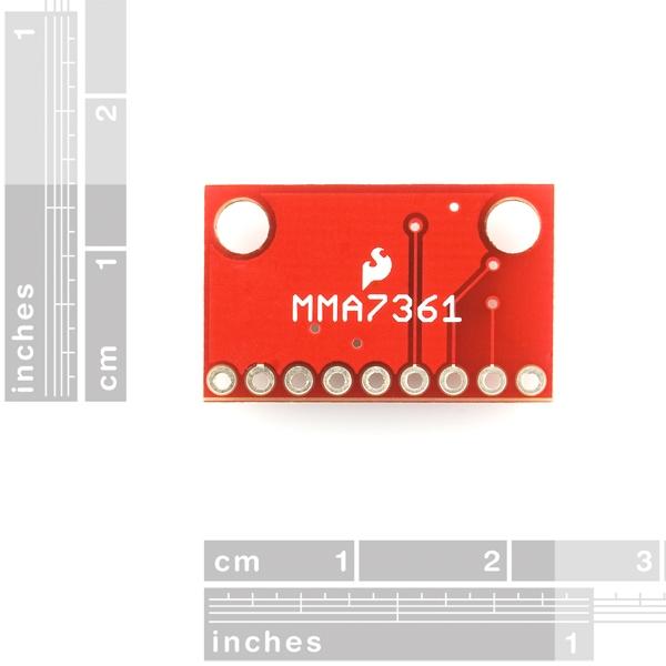 Acelerómetro analógico de 3 ejes - MMA7361L