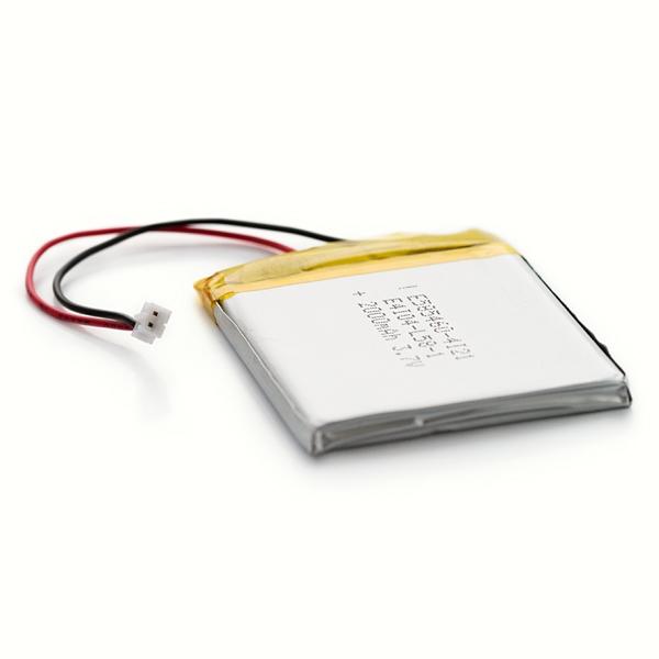 Batería de polímero de litio (Li-Po) 2000mAh - 3.7V