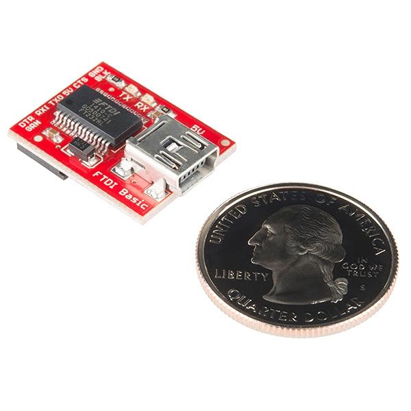 Convertidor USB serial (FTDI) básico a 5V