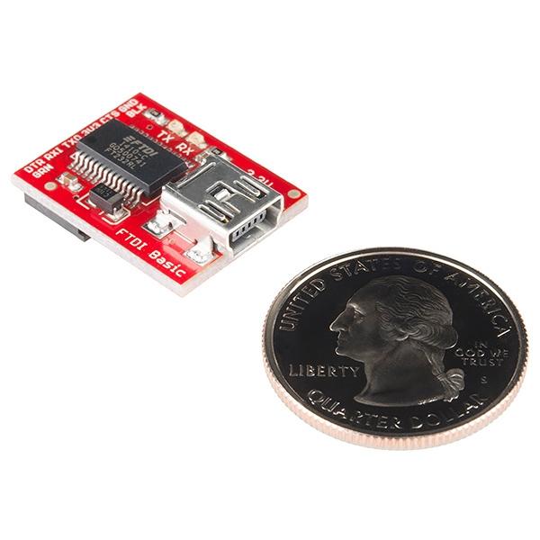 Convertidor USB mini 3.3V