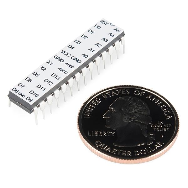 Microcontrolador ATmega328 con Arduino Optiboot (Uno)
