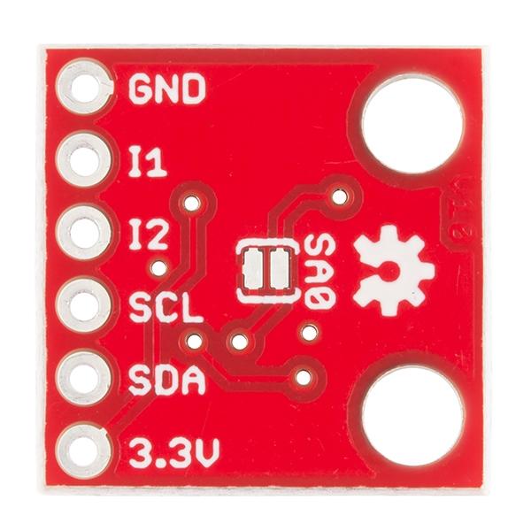 Acelerómetro digital de 3 ejes (MMA8452Q)