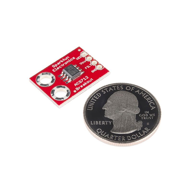 Sensor de corriente hasta 5A (ACS712)
